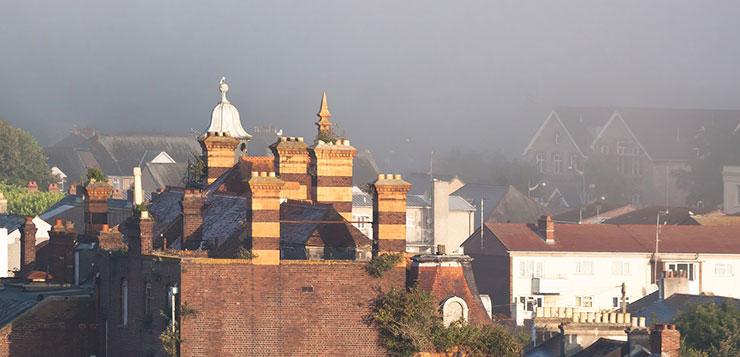 Туман в Англии