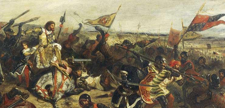 Столетняя война между Англией и Францией