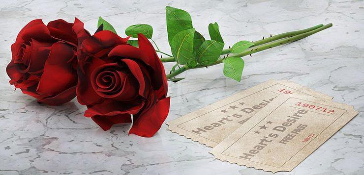 символ Англии красная роза