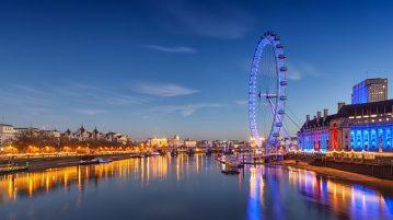 Лондонский Глаз в Лондоне