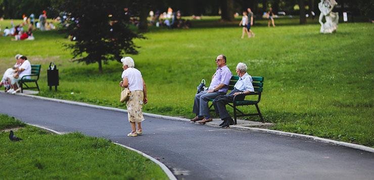 Пенсионный возраст в Англии