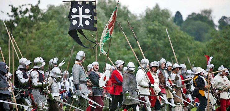 Война Алой и Белой розы в Англии