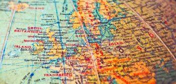 Где находится Англия на карте мира?