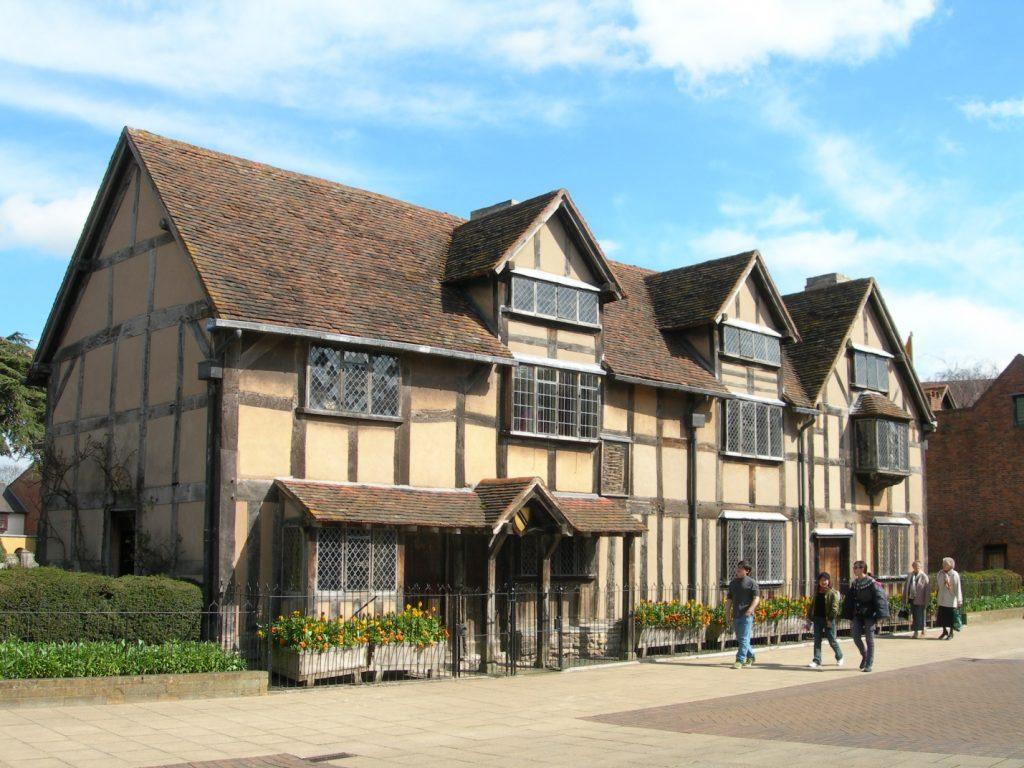 Музей Шекспира в Стредфорд-на-Эйвоне