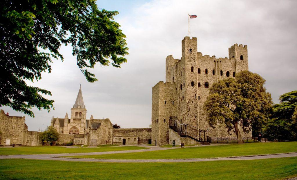Замок Рочестер в графстве Кент