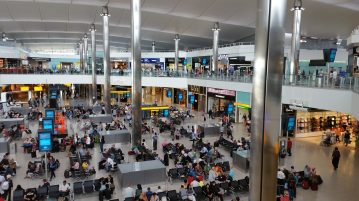 Аэропорты Англии